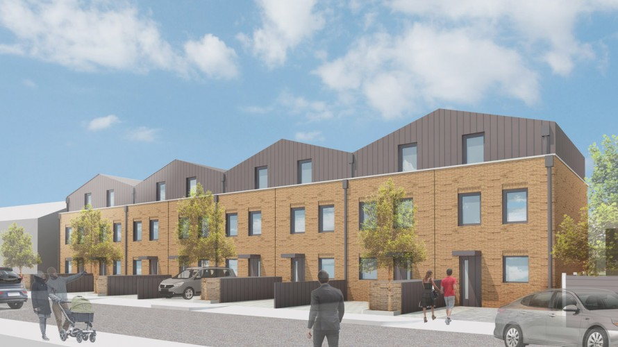 Planning permission granted at Eveline Road, Mitcham