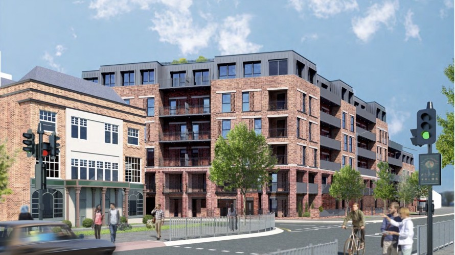 Planning Application submitted at London Road, Romford