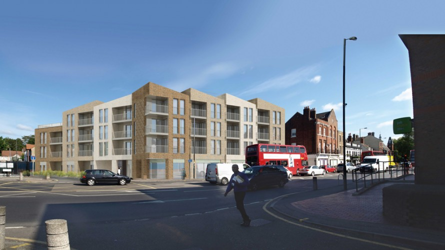 Planning Permission secured at London Road, Mitcham